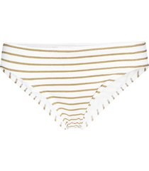 lurex stripe stripe hipster bikinitrosa vit lauren ralph lauren swimwear