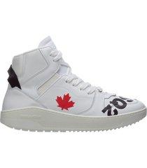 scarpe sneakers alte uomo in pelle barkley