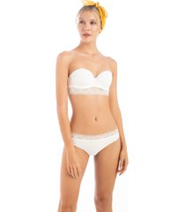 brasilera en ly termosellado con franja1173001l off white  options intimate