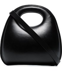 lemaire egg structured tote bag - black