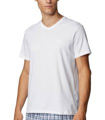 boss relaxed cotton fit v-neck t-shirt