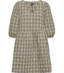 vmfaye 3/4 quilt dress sb2 dresses everyday dresses svart vero moda
