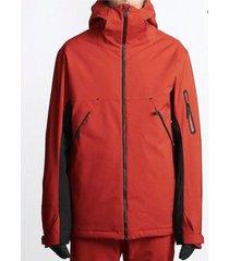 parka de ski hombre expedition rojo billabong