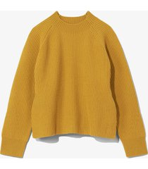 proenza schouler white label cashmere wool sweater gold/yellow m