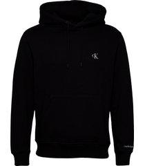 ck essential regular hoodie hoodie trui zwart calvin klein jeans