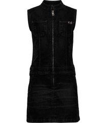 derindo dress jurk zwart diesel