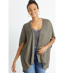 maurices womens olive knit cardigan blue