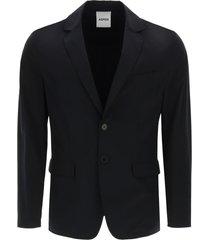 aspesi paperino jacket in stretch nylon