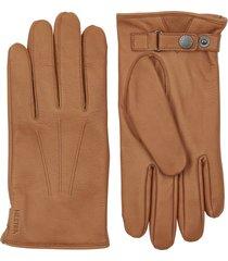 men's hestra eldner elk leather gloves, size large - brown