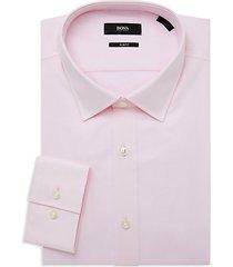 jenno slim-fit textured dress shirt
