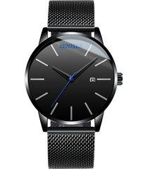 orologio da uomo di lusso moda casual ultra sottile orologio da uomo in acciaio inossidabile impermeabile per gli uomini