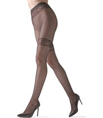 natori women's geo net tights hosiery