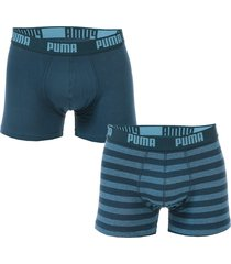 mens striped 2 pack boxer shorts