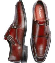 belvedere men's cambridge double monk strap dress shoes - size: 10 d-width