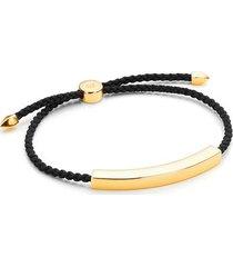 gold linear large men's friendship bracelet