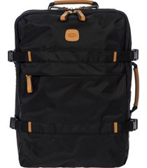 men's bric's x-travel montagna travel backpack - black