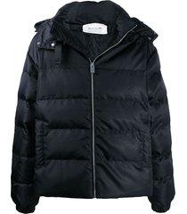 1017 alyx 9sm neck-strap quilted coat - black