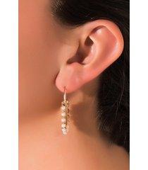 akira amber earring