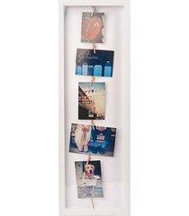 porta retrato clothesline flip branco umbra