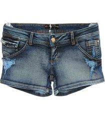 shorts jeans lapela