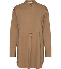 elmer blouse lange mouwen bruin munthe