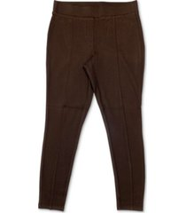 style & co petite seam-front pull-on pants, created for macy's