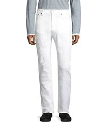 tilted tor straight-fit jeans