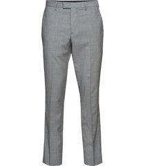 slim italian wool suit pant kostymbyxor formella byxor grå banana republic