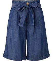 bermuda sostenibili in tencel™ lyocell (blu) - john baner jeanswear