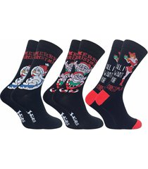 2 pack men thin funky colorful cotton rich novelty xmas christmas socks for gift