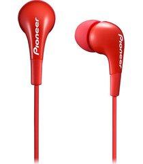 audífonos in ear pioneer cl502 rojo