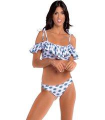 bikini blanca tout layka con colaless