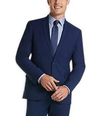 kenneth cole reaction techni-cole blue slim fit suit