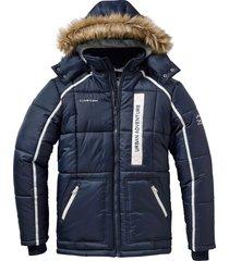 giacca trapuntata con cappuccio (blu) - bpc selection