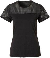 zwart dames sport shirt rohnisch - miko tee