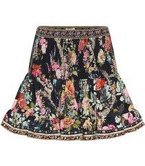 hampton hive short shirred skirt