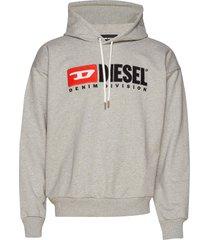 s-division sweat-shirt hoodie trui grijs diesel men