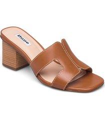 jupe sandal med klack brun dune london