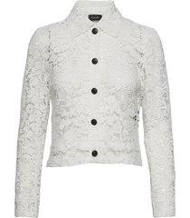 3180 - kaela overhemd met lange mouwen wit sand