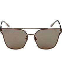 bottega veneta women's 60mm cat eye sunglasses - matte brown