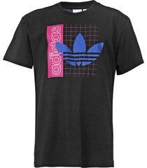 camiseta adidas originals grid tref preta - kanui