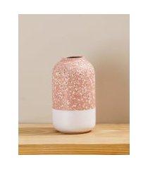 amaro feminino vaso em cerâmica, rosê