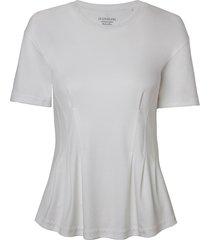 camiseta le lis blanc cristina malha algodão off white feminina (off white, gg)