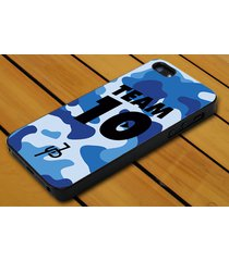 jake paul team 10 blue military iphone 4 5c 5s se 6 6+ 7 7+ samsung lg ipod case