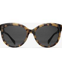 mk occhiali da sole portillo - tartaruga scuro (marrone) - michael kors