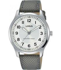 reloj análogo gris lorus by seiko
