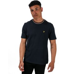 mens tipped ringer t-shirt