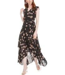 bar iii high-low maxi dress, created for macy's