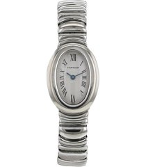 cartier 1990 pre-owned baignoire 18mm - white