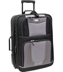 """geoffrey beene 21"""" carry-on luggage"""